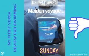 Fitbit Versa Maiden Voyage Swimming - A Fail