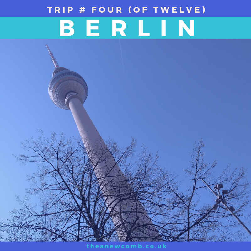 The Fernsehturm is a television tower in central Berlin, aka TV Tower