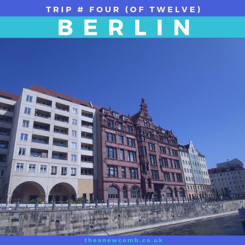 Berlin Buildings from the Spree