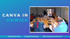 Canva Training in Hawick, Business Gateway