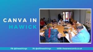 Canva Training in Hawick, Business Gateway