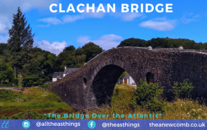 Clachan Bridge, aka the Bridge Over the Atlantic in Scotalnd Near Oban by Thea