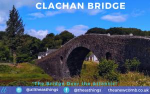 Clachan Bridge, aka the Bridge Over the Atlantic in Scotalnd Near Oban by Thea