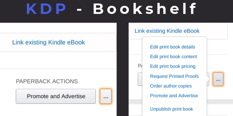 KDP change price of book Under Edit Book Pricing