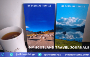 2 Journals - My Scotland Travels - 5x8 Made for Friends - Available on Amazon now