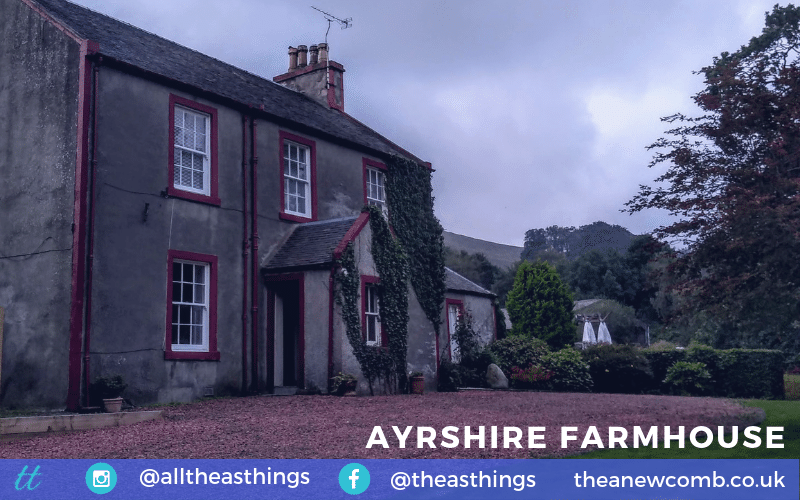 Summer Travels Ayrshire Farmhouse near Daily, Girvan South Ayrshire