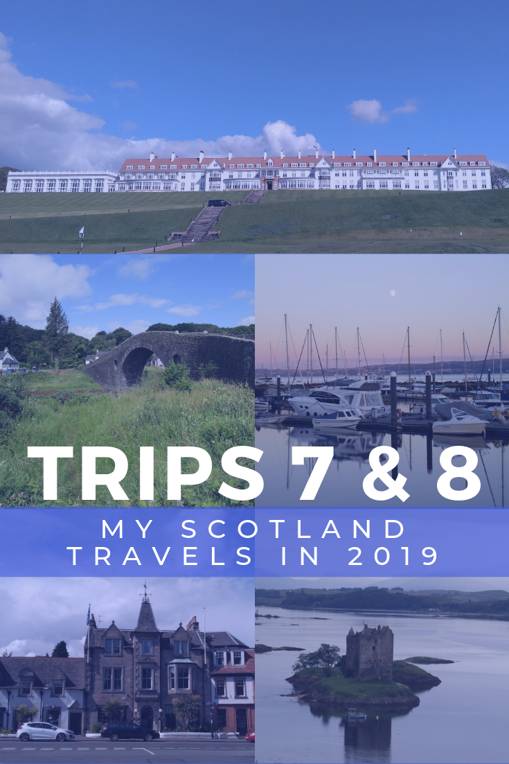 Thea's Summer Travels in Scotland 2019
