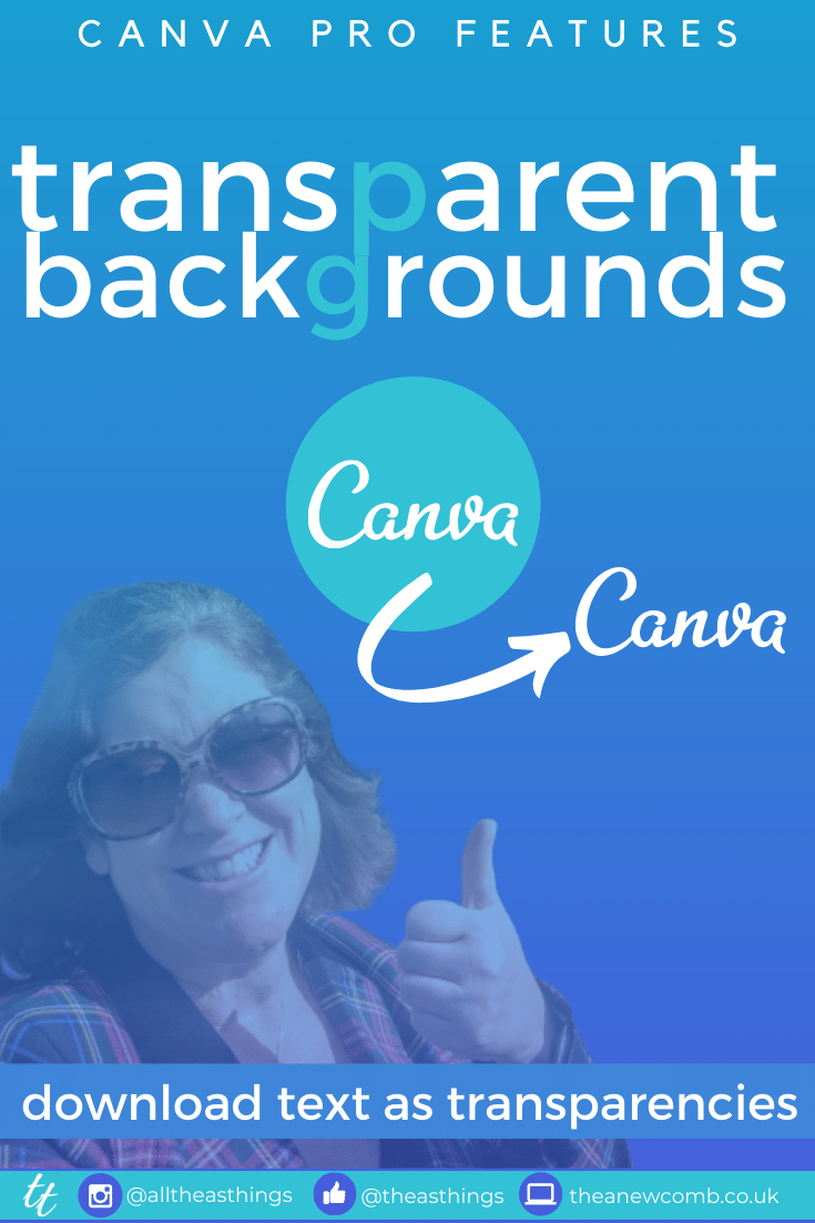 Canva Pro- Download Transparent backgrouns