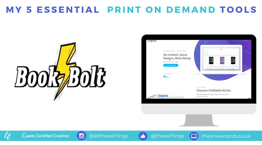 Join BookBolt and create books for KDP