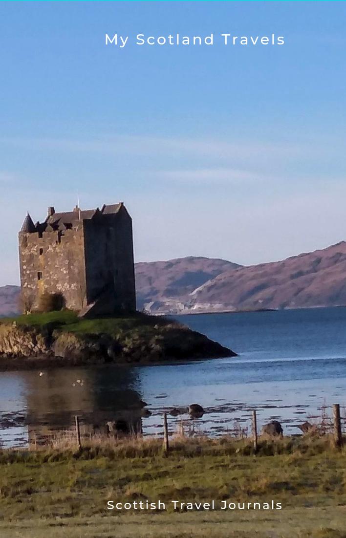 "Thea Newcomb photo"" Castle Stalker Scotland"