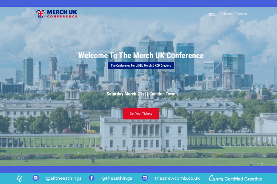 Merch UK Conference - London March 21, 2020
