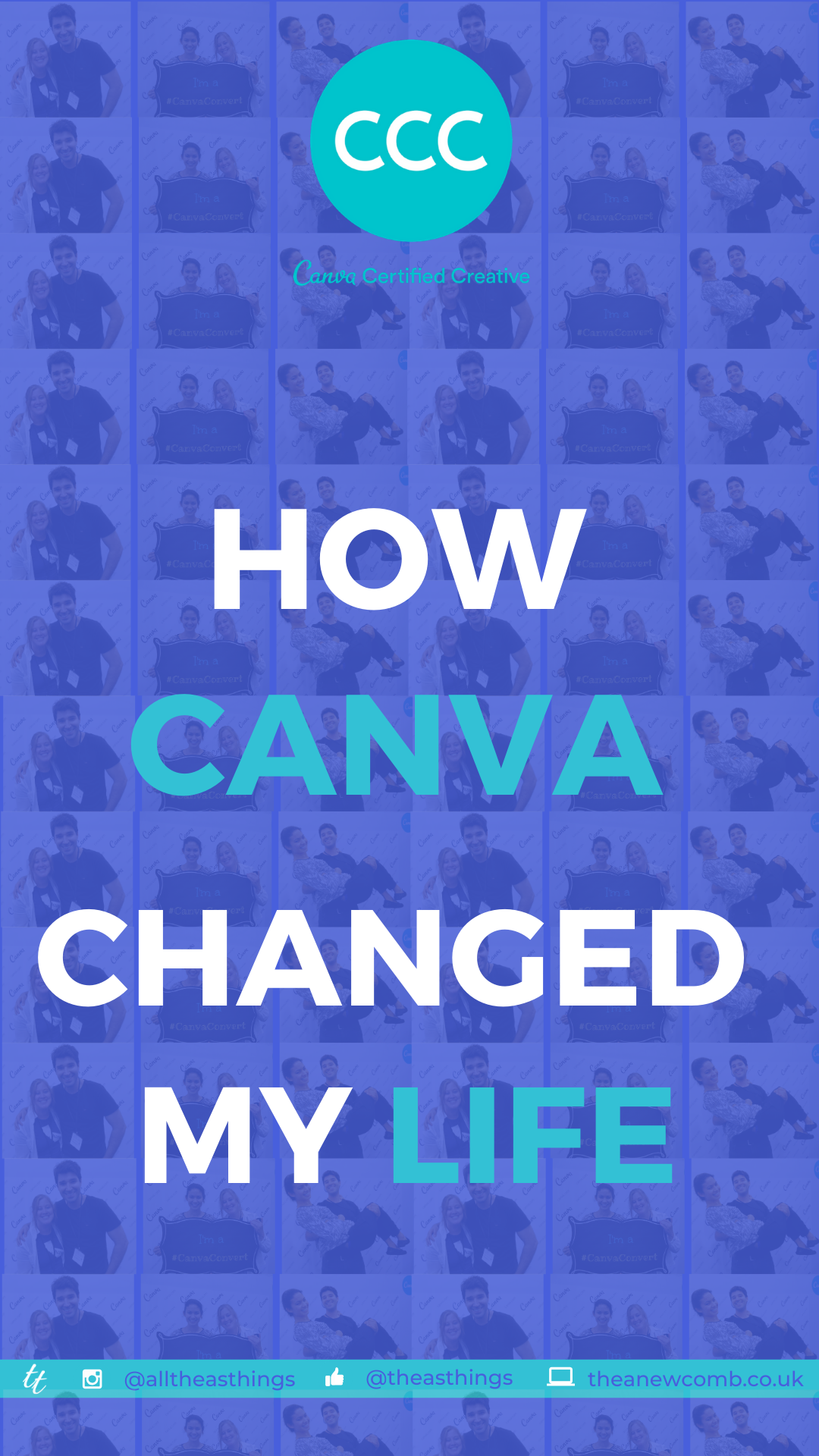 How Canva Changed my Life - Thea Newcomb - CCC