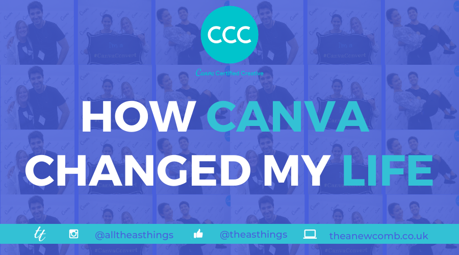 How Canva Changed my Life - Canva Certified Creative Thea Newcomb CCC