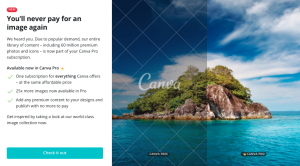 Canva Pro - Update 6 April 2020