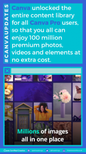Canva Pro Unlocked Content Library