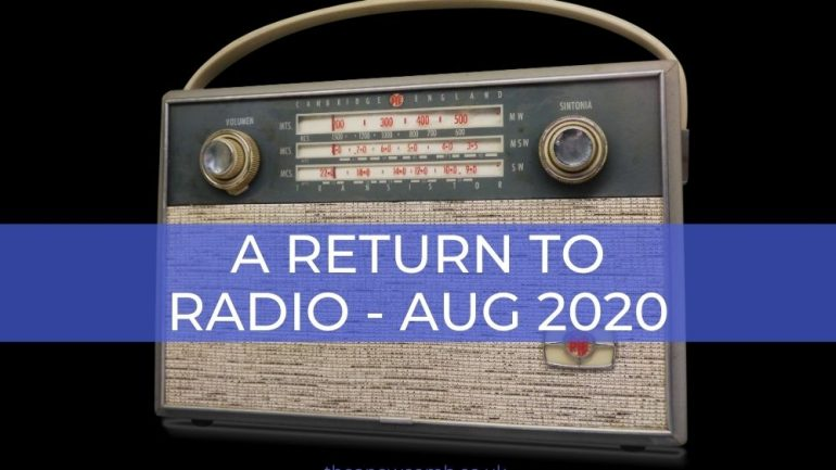 A Return to Radio August 2020 - The Thea Newcomb Show
