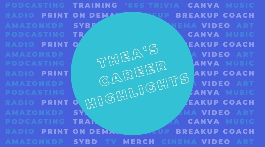 Career Highlights - About Thea Newcomb - Glasgow based trainer, podcaster and broadcaster