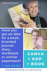 Canva Training - £99 power hour ($125) - help with presentations and KDP self publishing too
