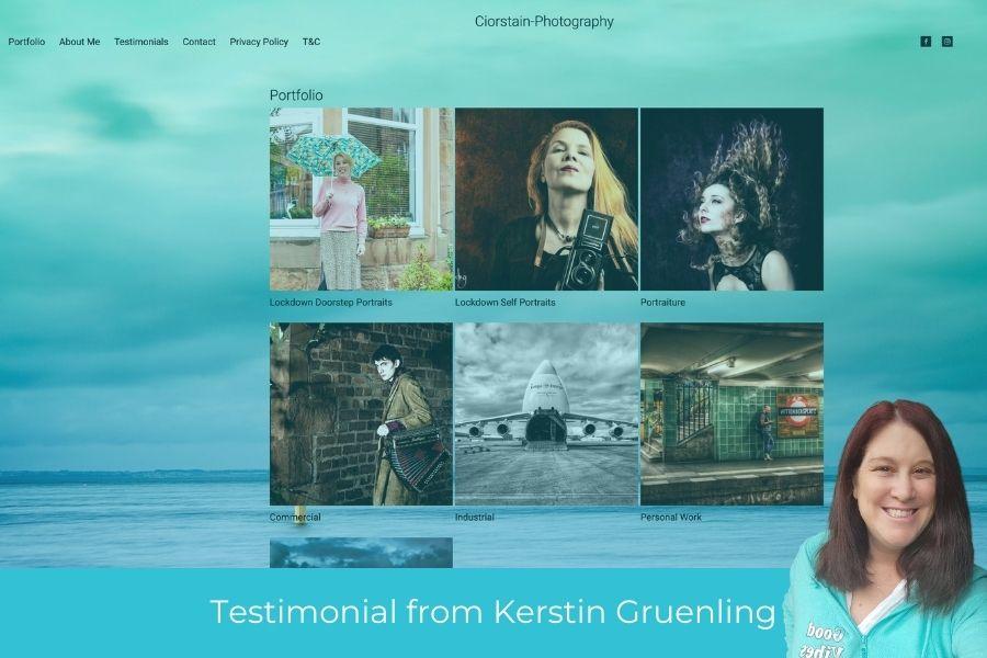 Kerstin Gruenling testimonial for Thea