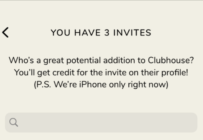 Clubhouse Invites automatically get added to your group