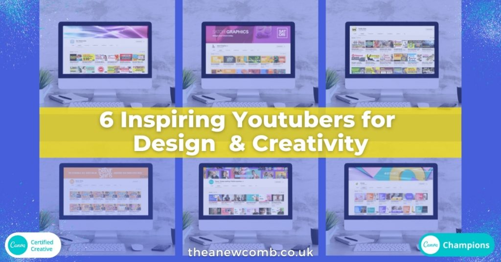 6 inspiring youtubers for design and creativity - merch, print on demand or simply art