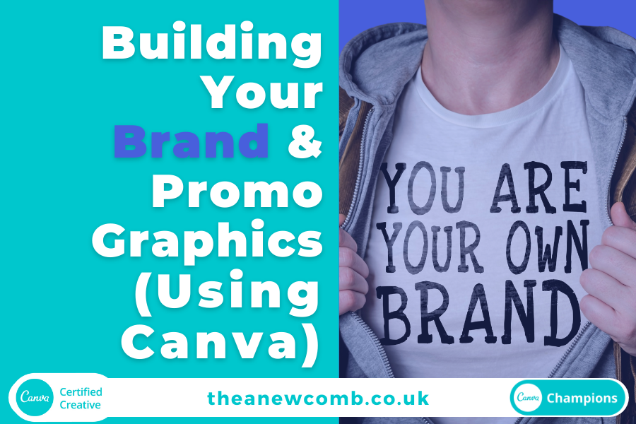 Building Your Brand and Promotional Graphics (using Canva)