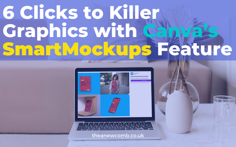 Canvas Smartmockups feature a blog by Thea Newcomb