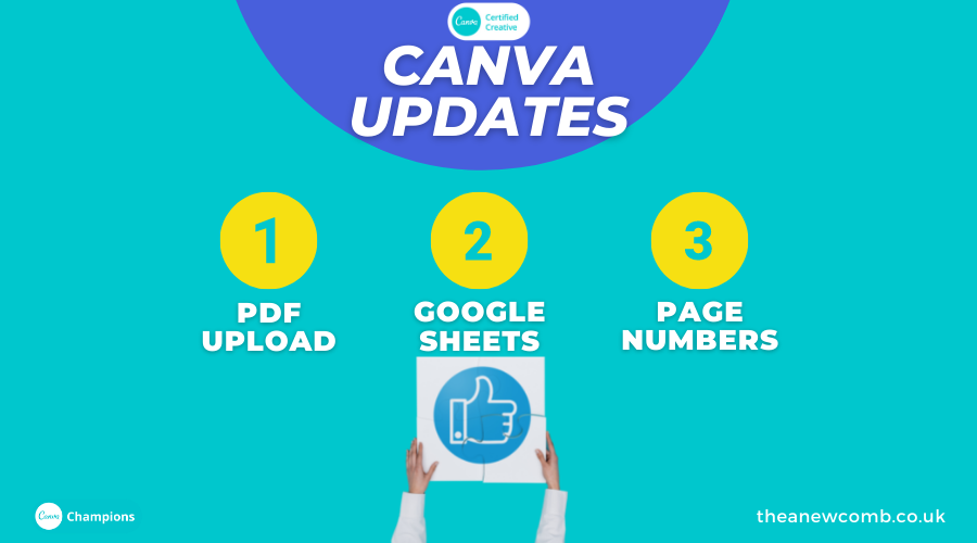 Explore some of the Summer Canva Updates 2021
