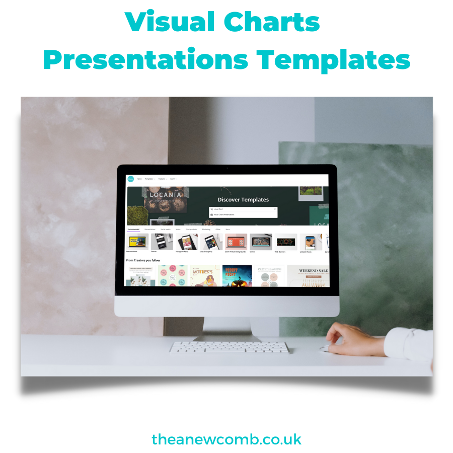 Discover Visual Charts Presentations in Canva