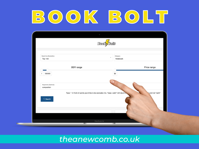 Sign up for BookBolt and get three days for FREE - start creating books for Amazon KDP