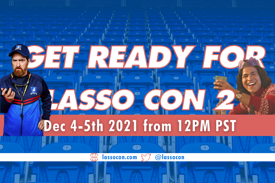 Get ready for lasso con 2 - co hosted by thea newcomb